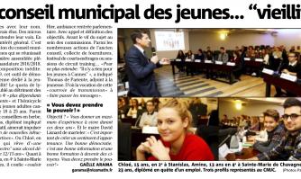 """Le conseil municipal des jeunes... """"vieillit"""" !"""