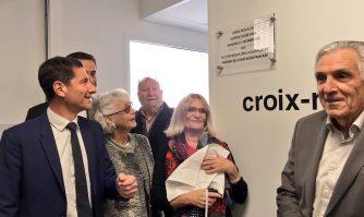 Inauguration des locaux rénovés de la Croix-Rouge cannoise