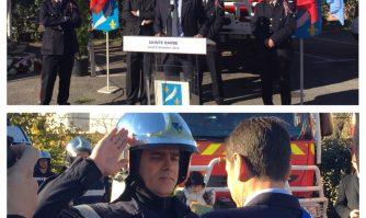 Sainte Barbe : Hommage aux Pompiers cannois