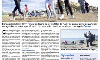 """Cannes, capitale du sport en plein air : J'ai testé """"le circuit training"""""""