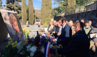Hommage à Louise Moreau, ancienne résistante et députée des Alpes-Maritimes