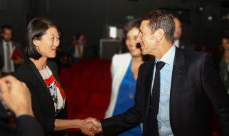 David Lisnard choisit Fleur Pellerin pour présider le Festival International des Séries à Cannes