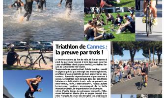 Cannes, capitale du sport en plein air : Triathlon, la preuve par trois !