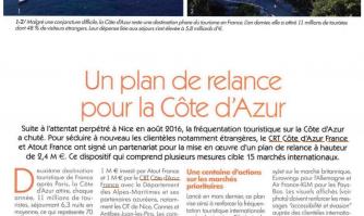 Un plan de relance pour la Côte d'Azur