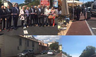 Inauguration de la deuxième phase de l'avenue Picaud