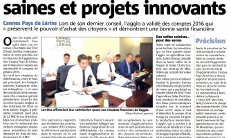 Conseil d'agglomération : finances saines et projets innovants