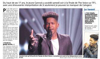The Voice : le Cannois Lisandro Cuxi en finale