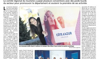 De nouveaux outils au service de la marque Côte d'Azur France
