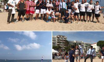 Tournoi de beach soccer organisé par Sourire & Partage