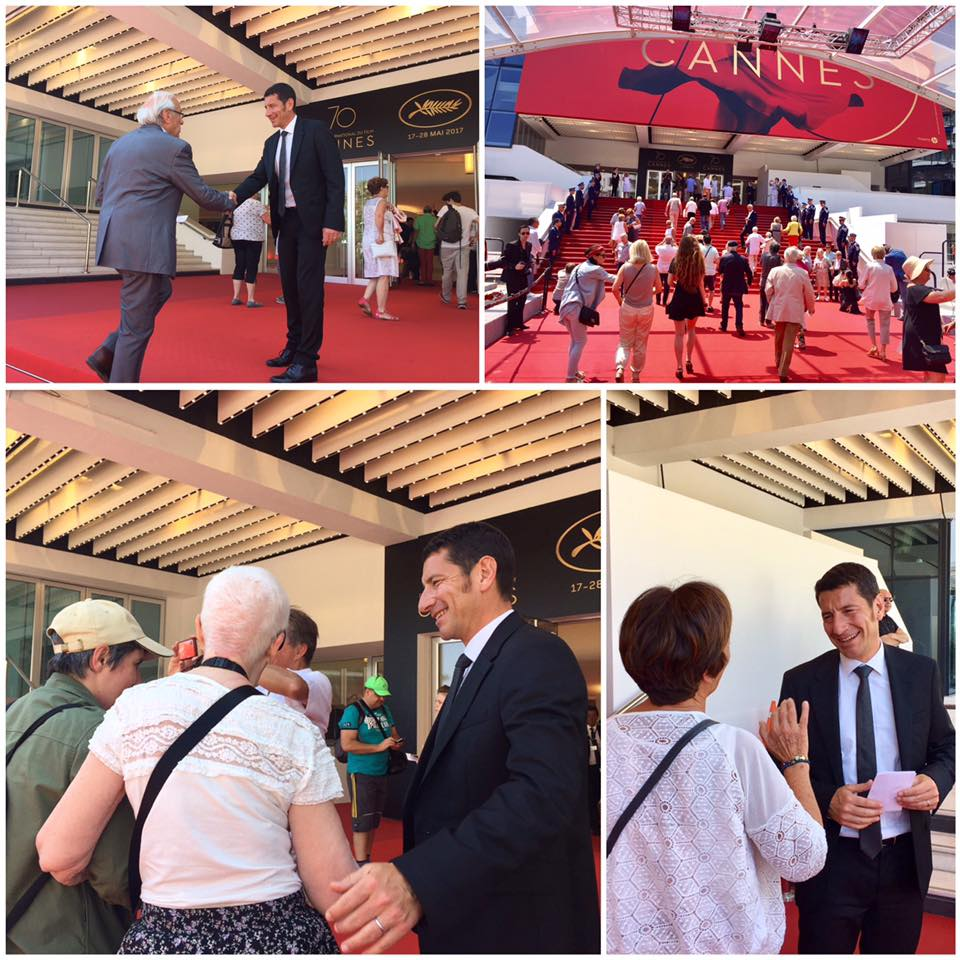David lisnard d roule le tapis rouge pour les cannois for Cannes piscine municipale