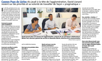 «  Servir l'usager et défendre le contribuable » interview de David Lisnard