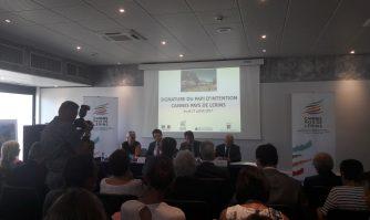 Signature du « Programme d'Actions et de Prévention des Inondations »
