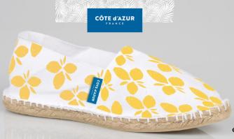 Espadrilles « Cote d'Azur France ». Une politique innovante de développement