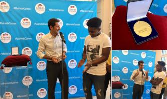 « Médaille d'Or de la Ville pour Lisandro Cuxi, vainqueur de The Voice 2017 »