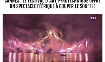 Cannes : Le Festival d'Art Pyrotechnique offre un spectacle féérique à couper le souffle