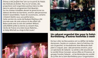 Saint-Barthélemy : une soirée animée sous les étoiles
