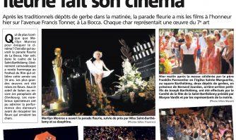 Saint-Barthélemy : la parade fleurie fait son cinéma