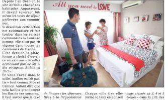 Airbnb : Cannes précurseur pour collecter la taxe de séjour