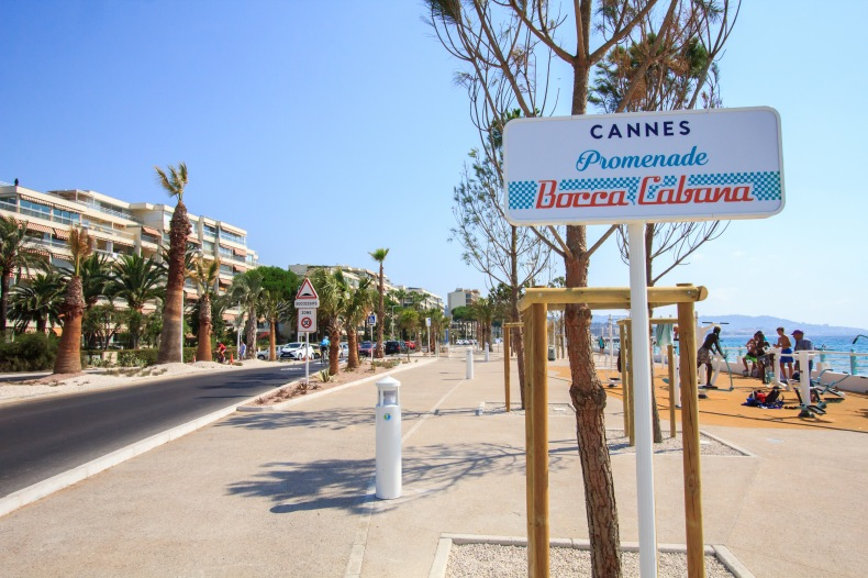 Cannes ach ve une premi re phase de boccacabana david for Cannes piscine municipale