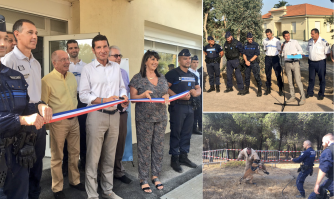 Sécurité : inauguration de la brigade cynophile, restructurée et renforcée, au cœur de la Croix-des-Gardes