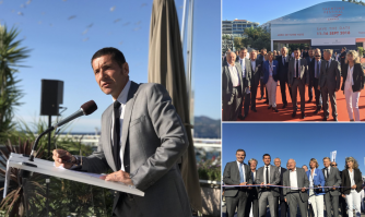 Inauguration du 40ème «Cannes Yachting Festival»