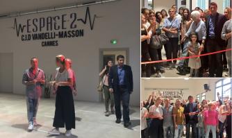 Inauguration du Centre International de danse Vandelli-Masson «Espace 2»