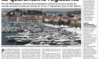 Cannes Yatching Festival : La quarantaine rugissante