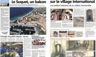 Le Suquet, un balcon sur le village international