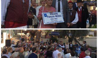 Inauguration du square Musso au Suquet