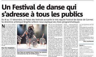 Un Festival de danse qui s'adresse à tous les publics