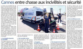Cannes entre chasse aux incivilités et sécurité