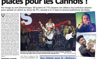 NRJ Music Awards : 330 places pour les Cannois !