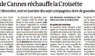 Le Festival de danse de Cannes réchauffe la Croisette