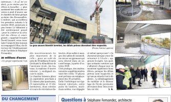 Visite guidée en 5 images au cœur du chantier de l'école des Broussailles à Cannes