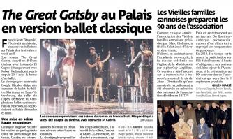 The Great Gatsby au Palais en version ballet classique