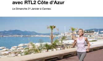 Vivez le 1er Cannes Urban Trail avec RTL2 Côte d'Azur