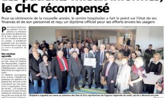 Les patients mieux informés, le CHC récompensé