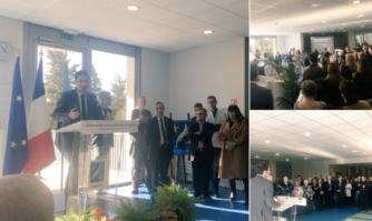 David Lisnard adresse ses voeux à la belle et compétente communauté hospitalière de Cannes