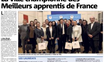 La ville championne des Meilleurs apprentis de France