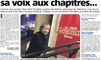 Nathalie Baye : invitée surprise des Débats Généreux de Télérama à Cannes