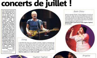 Un Carré d'as pour les concerts de juillet à Cannes