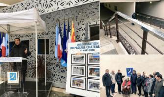 Passage Châteaudun : réunification du centre-ville avec un espace redéfini, plus esthétique et chaleureux