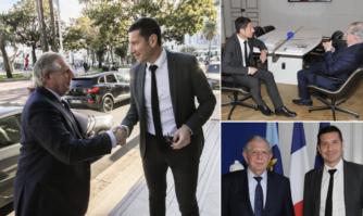 David Lisnard, Maire de Cannes, a reçu Jacques Mézard, Ministre de la Cohésion des territoires