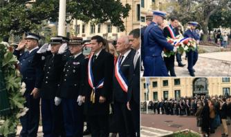 Hommage des Cannois aux victimes des attaques terroristes de l'Aude et à Mireille Knoll
