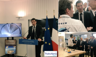 Présentation du projet Startobus de Thales Alenia Space, l'excellence technologique cannoise comme moteur d'une industrie spatiale hautement stratégique.