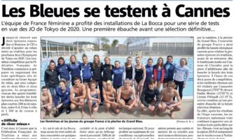 Les Bleues se testent à Cannes