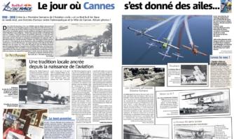 Le jour où Cannes s'est donné des ailes...