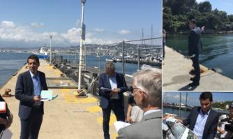 Modernisation des pontons d'accueil sur l'île Sainte-Marguerite