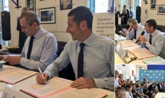 Signature d'une convention de partenariat entre l'INA et Cannes