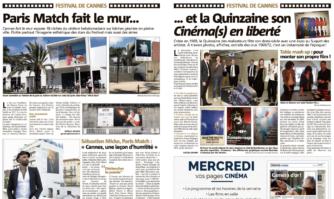 Paris Match fait le mur... et la Quinzaine son Cinéma(s) en liberté